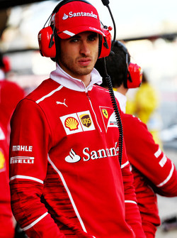 Antonio Giovinazzi, Ferrari, Testfahrer