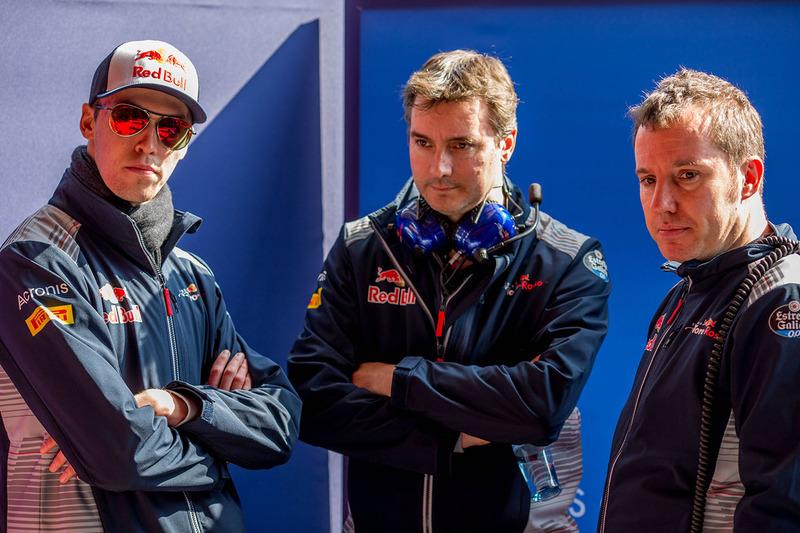 Daniil Kvyat, Scuderia Toro Rosso, James Key, Scuderia Toro Rosso Director técnico