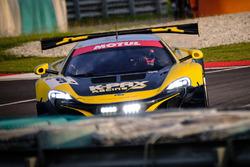 #9 Flying Lizard Motorsports / K-PAX Racing McLaren 650 S GT3: Alvaro Parente, Shane Van Gisbergen,