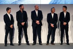 Antonio Felix da Costa; Martin Tomczyk; Ernest Knoors, Team Principal BMW Team MTEK; Charly Lamm, Team Principal BMW Team Schnitzer and Jesse Krohn
