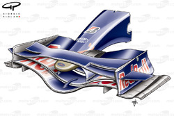 STR03 (Red Bull RB4) 2008 front wing and nose