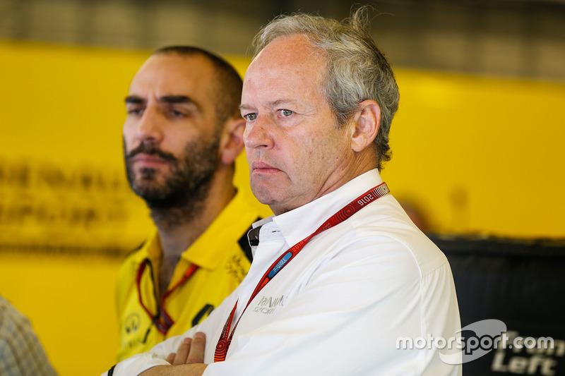 Jerome Stoll, presidente de Renault Sport F1