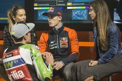 Pol Espargaro, Red Bull KTM Factory Racing; Aleix Espargaro, Aprilia Racing Team Gresini