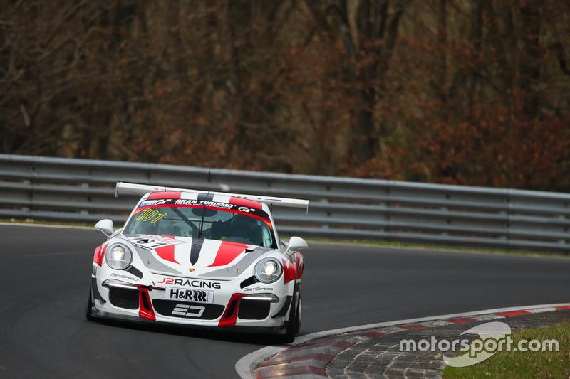 Janine Hill, John Shoffner, Arno Klasen, Porsche 911 GT3 Cup