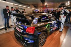 Petter Solberg and Johan Kristoffersson, PSRX Volkswagen Sweden, VW Polo GTi