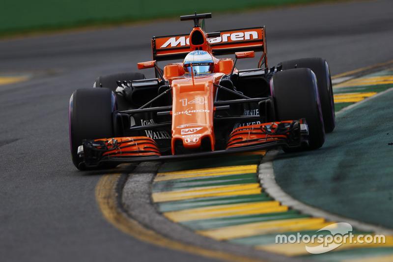 12: Фернандо Алонсо, McLaren MCL32