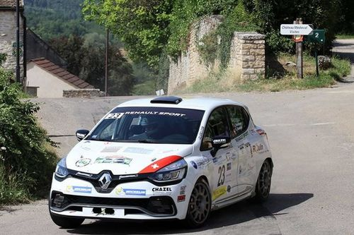 Clio R3T Trophy Alps: Rallye Bourgogne/Côte Chalonnaise