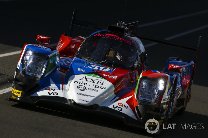 #39 Graff Racing, Oreca 07 Gibson: James Allen, Franck Matelli, Richard Bradley