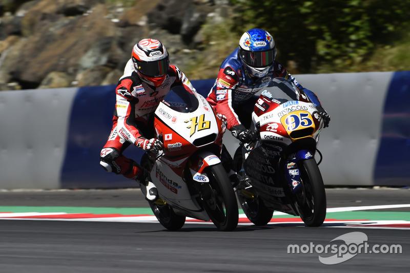 Hiroki Ono, Honda Team Asia, Honda; Jules Danilo, Ongetta-Rivacold, Honda