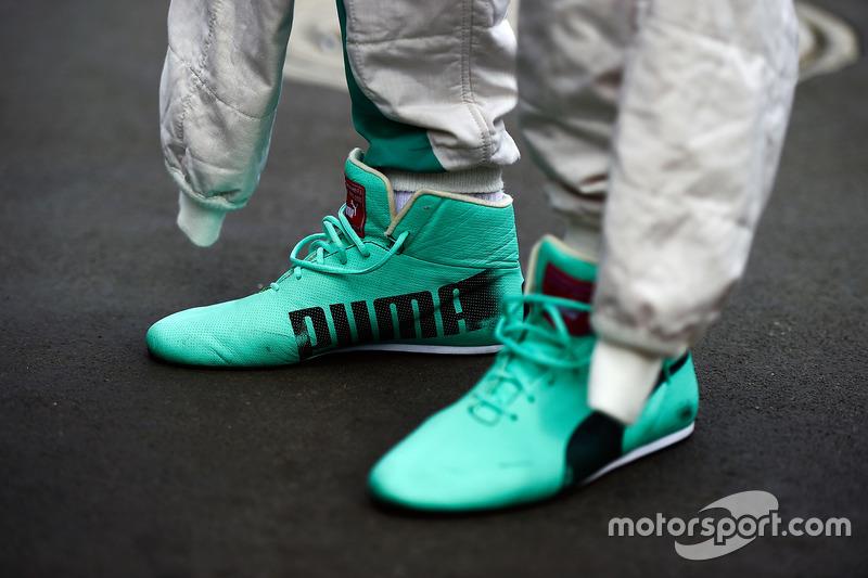 حذاء نيكو روزبرغ، مرسيدس