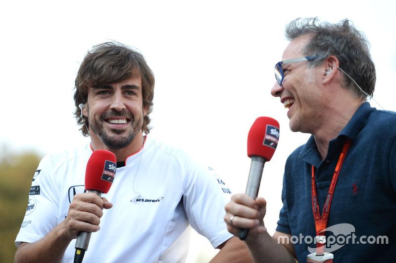 Fernando Alonso, McLaren ve Jacques Villeneuve