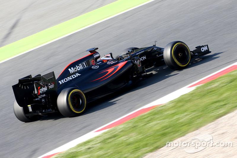 Stoffel Vandoorne, McLaren MP4-31, Test- und Ersatzfahrer