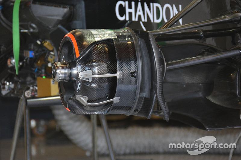 McLaren MP4-31, Heckdetail