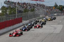 Старт: лідирує Фелікс Росенквіст, Belardi Auto Racing
