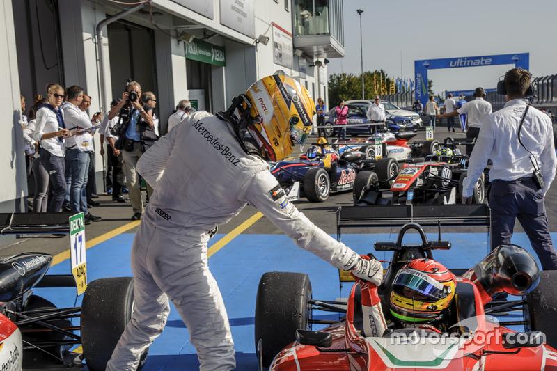 Maximilian Günther Prema Powerteam Dallara F312 - Mercedes-Benz, Lance Stroll Prema Powerteam Dallara F312 - Mercedes-Benz