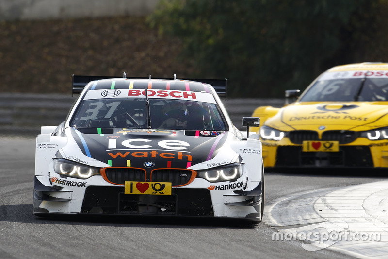 Tom Blomqvist BMW Team RBM, BMW M4 DTM