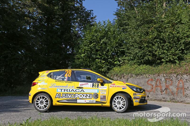 Kevin Gilardoni, Corrado Bonato Renault Clio R3T #28