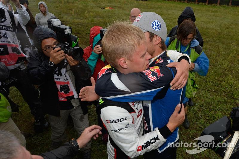 Ott Tanak, DMACK World Rally Team with Andreas Mikkelsen, Volkswagen Polo WRC, Volkswagen Motorsport