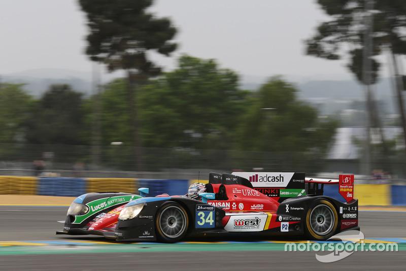18. LMP2: #34 Race Performance, Oreca 03R - Judd