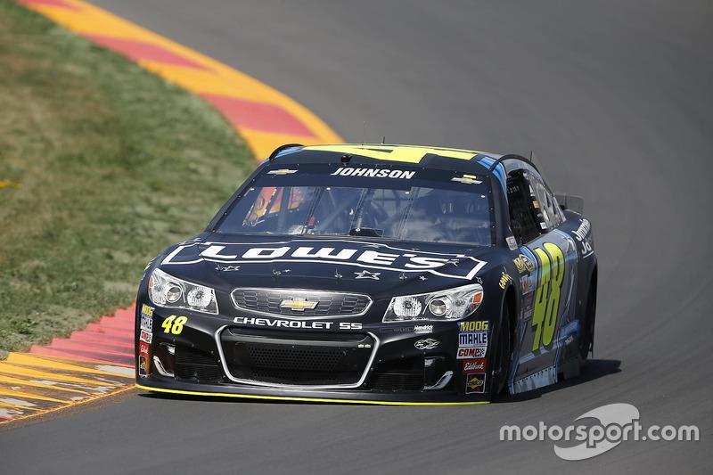 40. Jimmie Johnson, Hendrick Motorsports, Chevrolet (Crash)