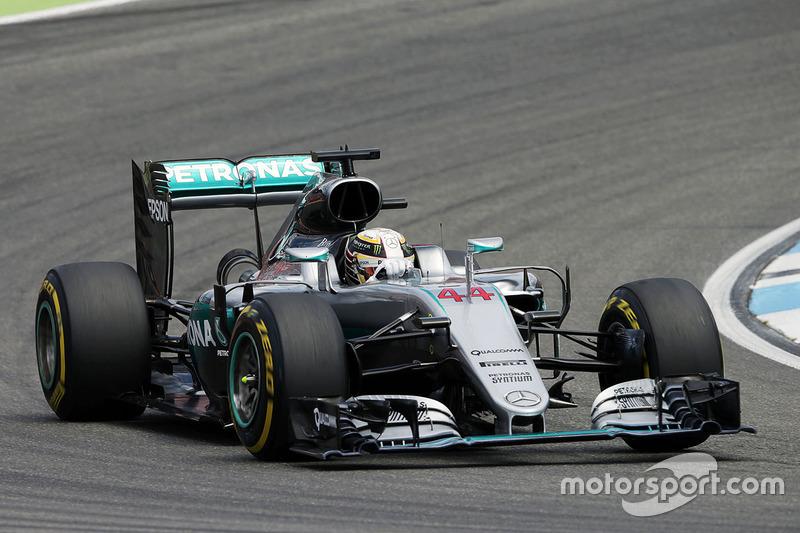 1. Lewis Hamilton, Mercedes AMG F1