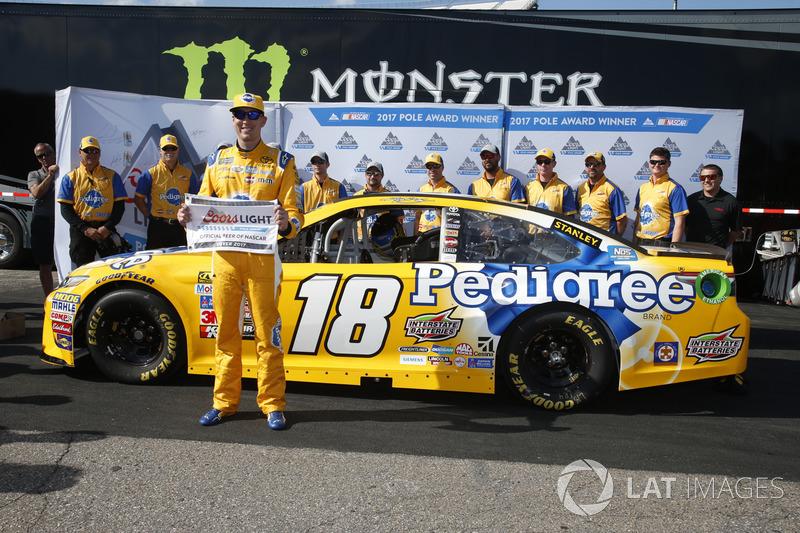 Polesitter: Kyle Busch, Joe Gibbs Racing, Toyota