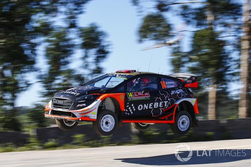 Мадс Остберг и Ола Флёне, Ford Fiesta WRC