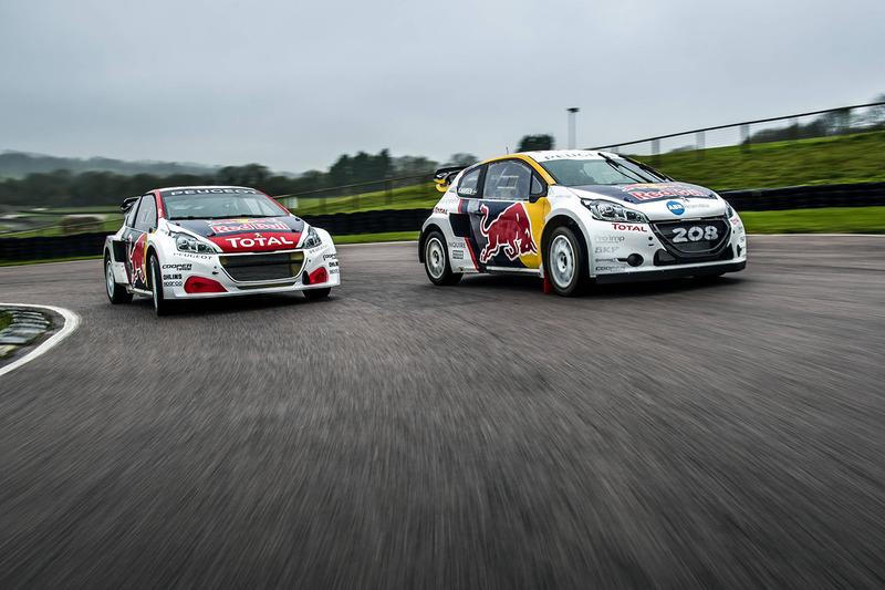 Гонщики Team Peugeot Hansen Тимми Хансен и Кевин Хансен