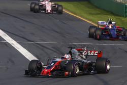 Ромен Грожан, Haas F1 VF-17, Карлос Сайнс-мл., Scuderia Toro Rosso STR12, Серхио Перес, Force India VJM10