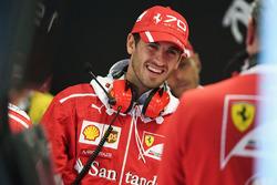 Тест-пилот Ferrari Антонио Джовинацци