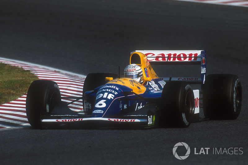 1992: Riccardo Patrese (Williams-Renault FW14B)