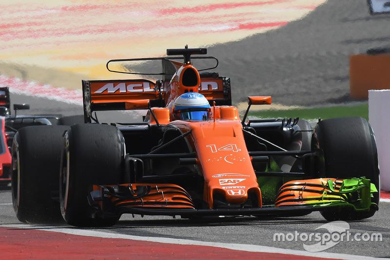 Исследования аэродинамики McLaren MCL32