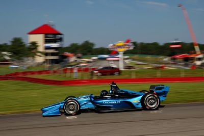 IndyCar 2018 Mid-Ohio test