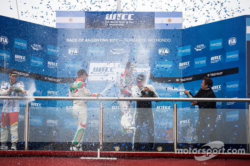 Норберт Міхеліс, Honda Racing Team JAS, Тьягу Монтейру, Honda Racing Team JAS, Тед Бйорк, Polestar Cyan Racing