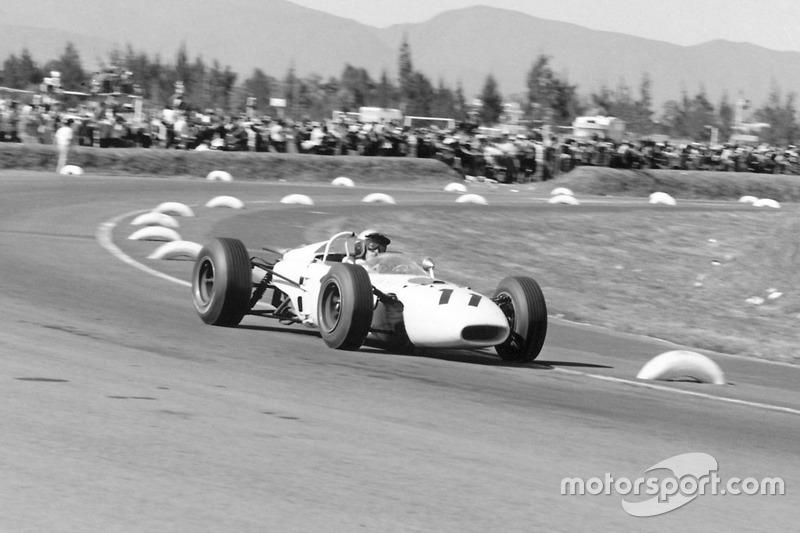 Richie Ginther (Honda) - GP Meksiko 1965