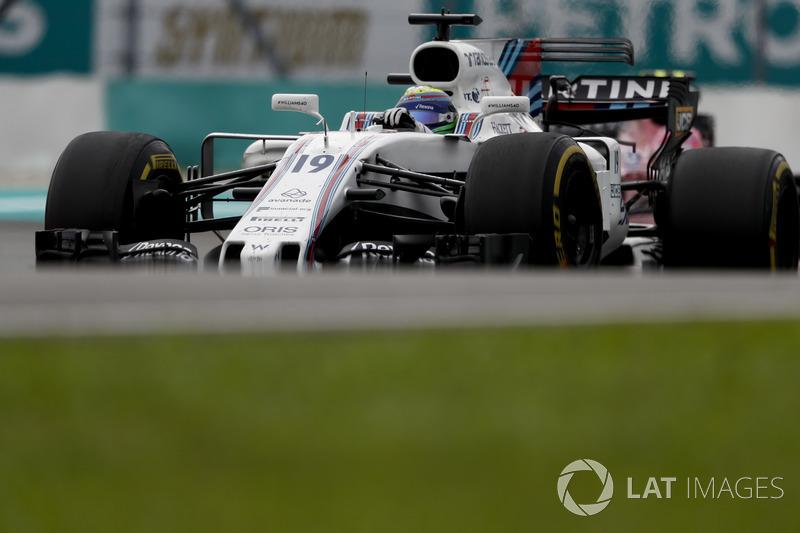 Em mais uma corrida discreta, Felipe Massa foi o nono colocado.