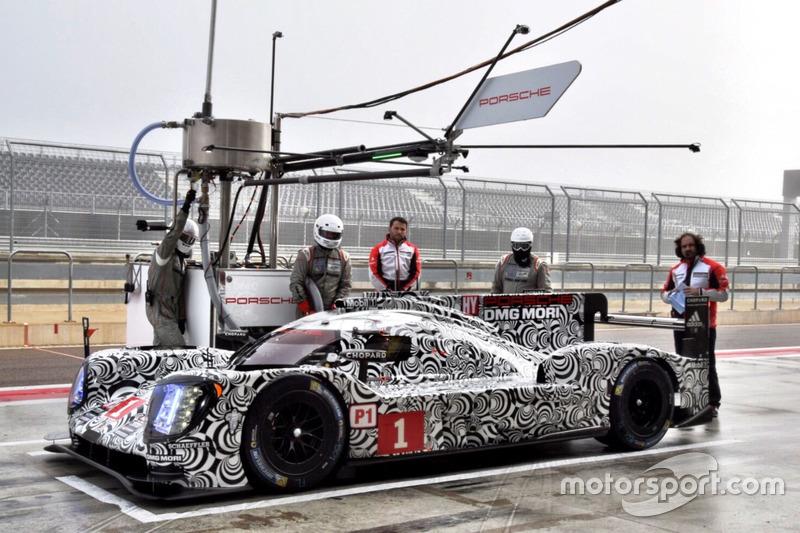 #1 Porsche Team Porsche 919 Hybrid: Earl Bamber