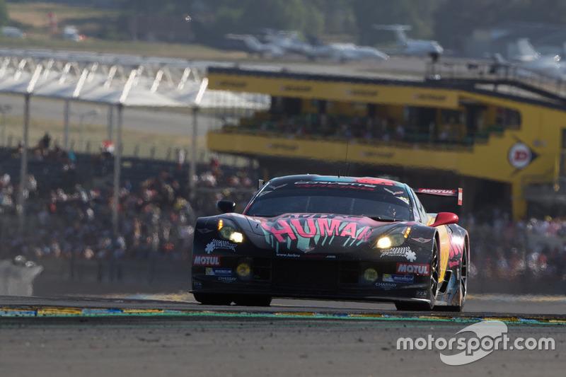 Na GTE Am Fernando Rees também teve problemas com seu Corvette #50 e foi o 49º.