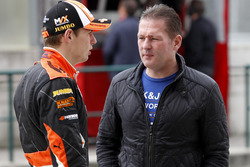 Max Verstappen, Van Amersfoort Racing Dallara F312 - Volkswagen ve babası Jos Verstappen