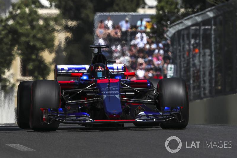 16º Daniil Kvyat, Scuderia Toro Rosso STR12 (4 puntos)