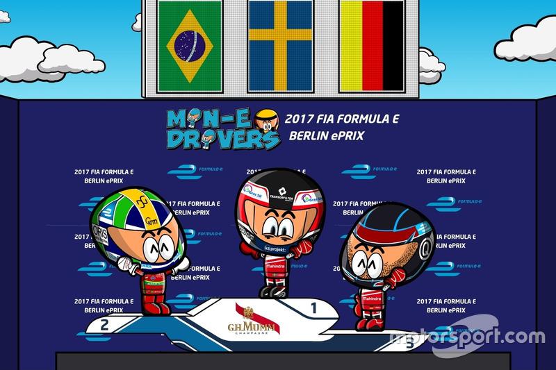 Primera carrera del ePrix de Berlín 2016/2017 según 'Los MinEDrivers'