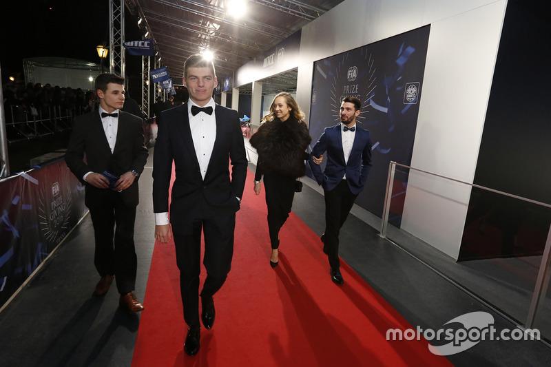 Max Verstappen, Red Bull Racing y José María López, Citroën