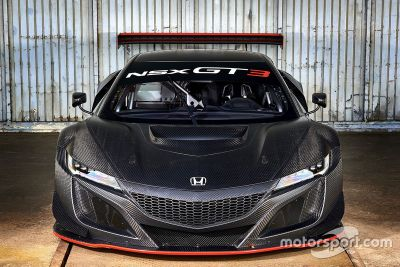 Honda NSX GT3 customer racing unveil