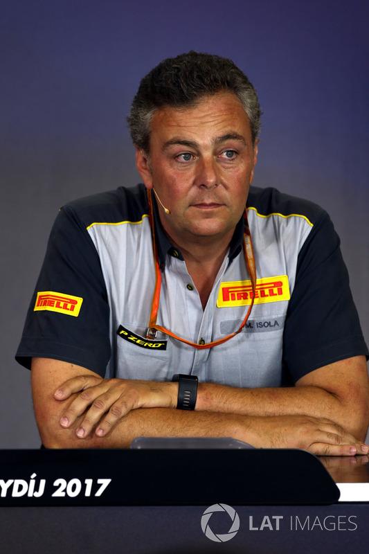 Спортивний директор Pirelli Motorsport Маріо Ізола
