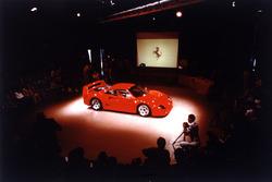 Ferrari F40 tanıtımı, Maranello Temmuz 21, 1987