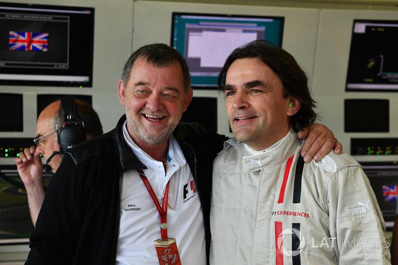 Paul Stoddart und Adam Cooper, Journalist