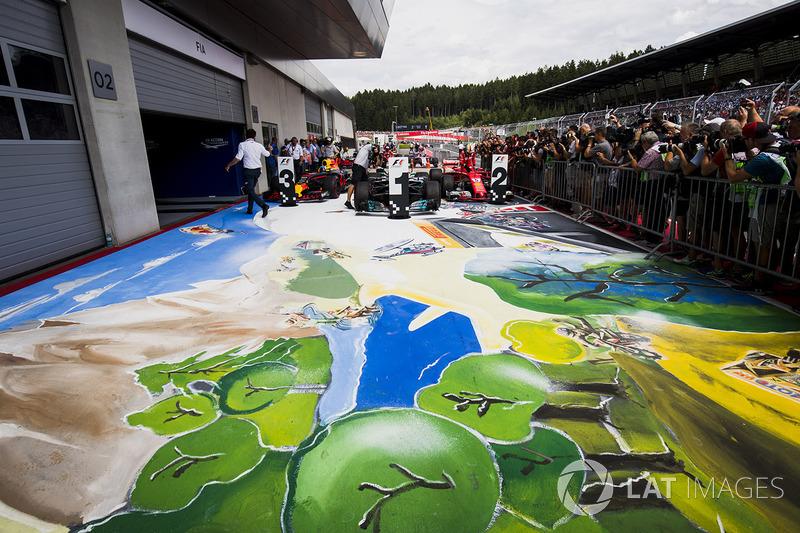Gran Premio de Austria: dibujo de deportes extremos