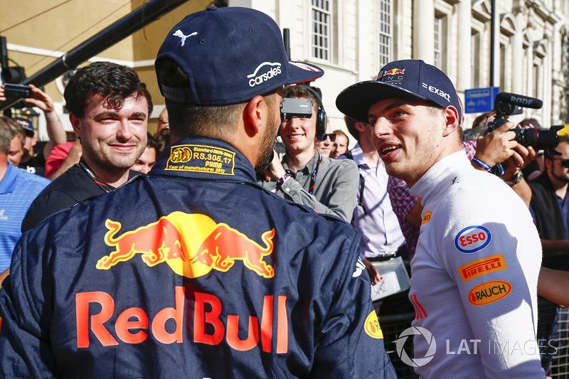 Даніель Ріккардо і Макс Ферстаппен, Red Bull