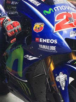 Inside-Winglet an der M1 von Maverick Viñales, Yamaha Factory Racing