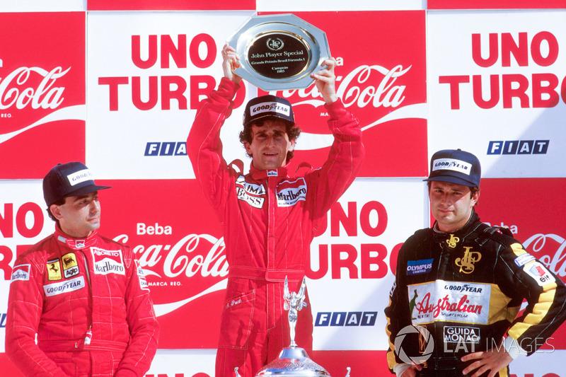 Alain Prost - Grand Prix du Brésil (six victoires)